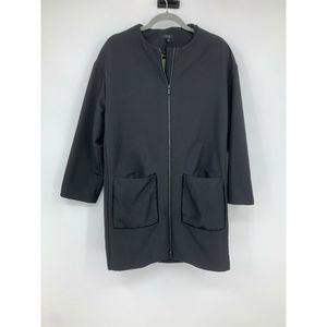 COS womens jacket 10 lagenlook black minimalist